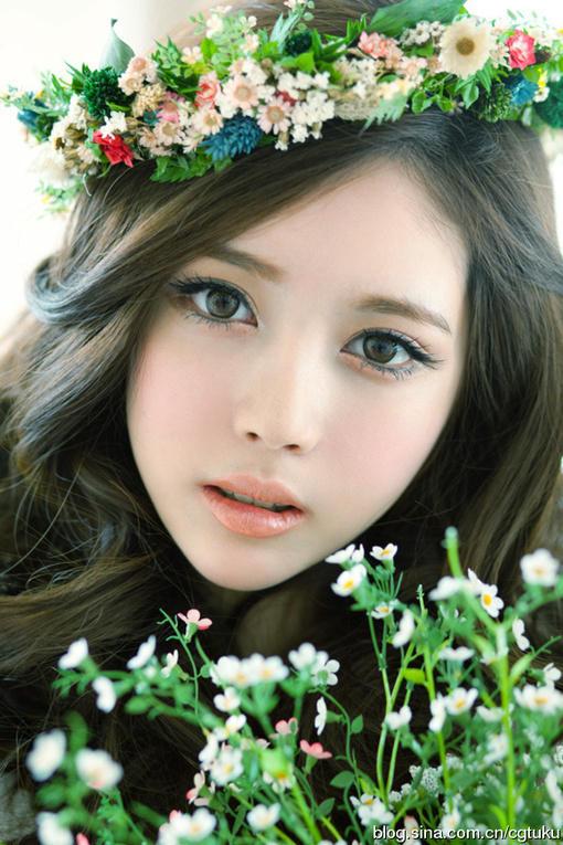 美丽的女人脸1 图片 hao123导航