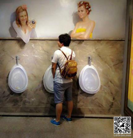 有美女看你尿尿你还尿的出来么?