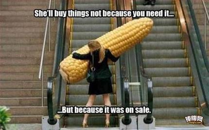 并不是因为需要才买,只是因为它在打折