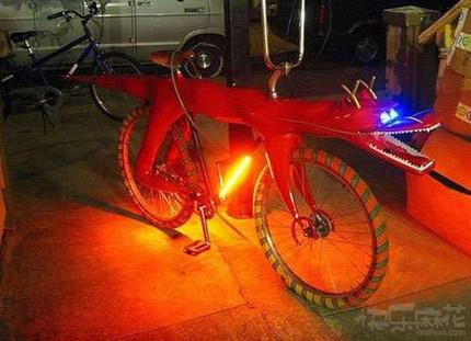 骑上这自行车回头率超高