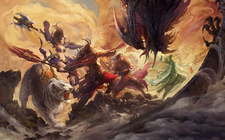 《传奇世界2》壁纸